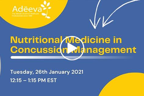 Nutritional Medicine in Concussion Management