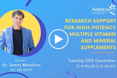 Research Support for High-Potency Multiple Vitamin and Mineral Supplements